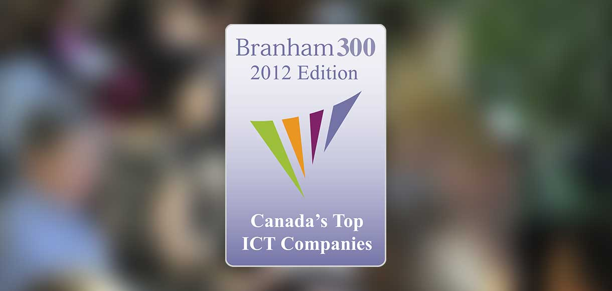 Pandell Named a 2012 Top Canadian Technology Company