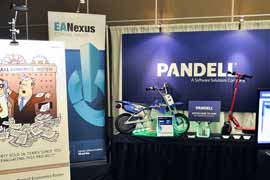 Pandell Booth at Hydrocarbon Economics Evaluation Symposium