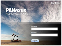 PANexus 4.0 Login Screen