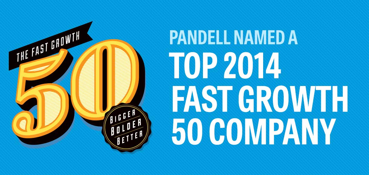 Pandell Named a 2014 Alberta Fast Growth 50 Company