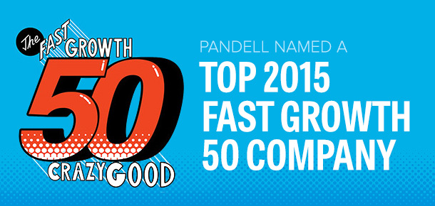 Pandell Named a 2015 Alberta Fast Growth 50 Company