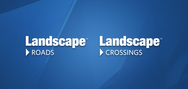 Pandells Landscape Roads and Landscape Crossings software