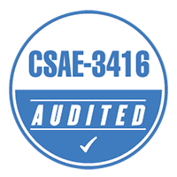 CSAE-3416 Audited Badge