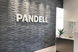 Lobby of Pandell's New Houston Office