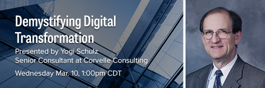 Demystifying Digital Transformation Webinar